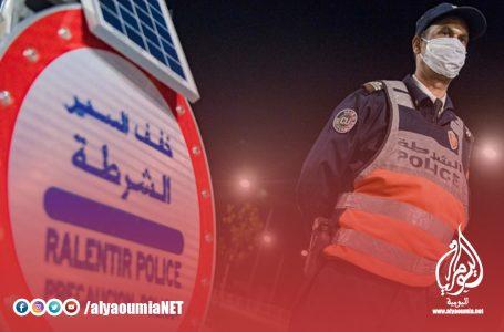الرباط: ضبط 33 سائق سيارة في حالة تلبس بخرق الطوارئ الصحية والسياقة بطريقة استعراضية وخطيرة